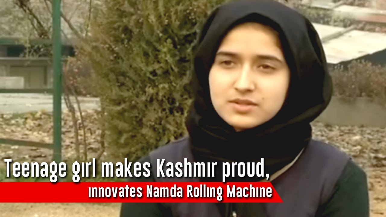 Teenage Girl Makes Kashmir Proud, Innovates Namda Rolling Machine - Excelsior News-4228